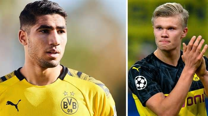 Real Madrid Achraf Could Play A Major Role In Haaland S Future Get The Latest News For Realmadrid Inside Pinterest In 2020 Real Madrid Football Real Madrid Madrid