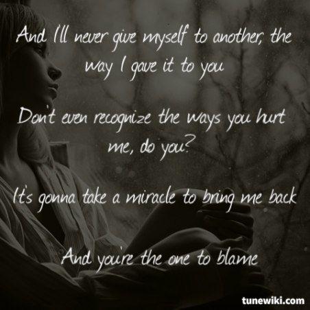 Rehab - 1980 Song Lyrics
