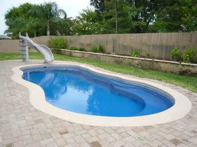 17 Best Images About Pools On Pinterest Small Yards Fiberglass Swimming Pools And Minis