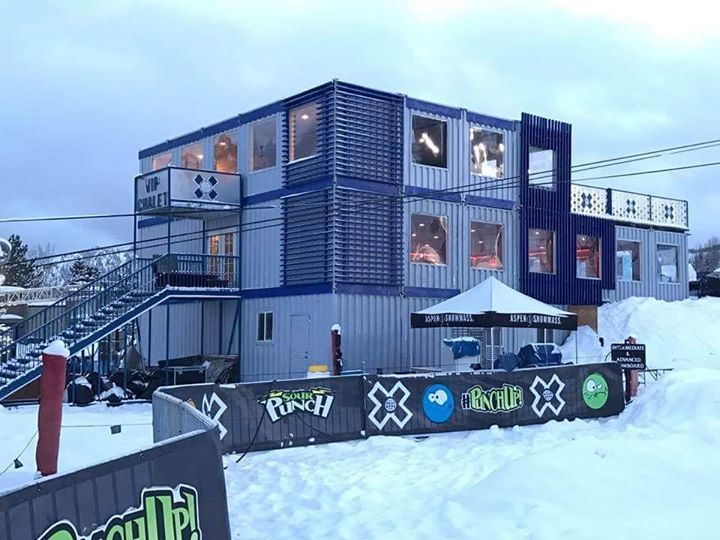 The newly designed ESPN VIP Chalet for The X Games is ready for action. #Aspen #ESPN #XGames #1540Productions - http://ift.tt/1HQJd81