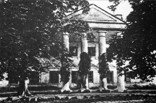 Hruszowa.  Dwór Rodziewiczów, XIX w, ca.1939, Bialorus
