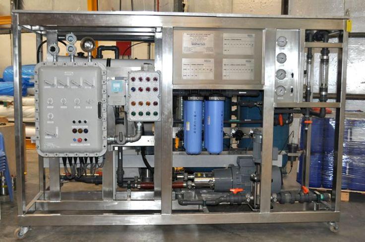 Marine Reverse Osmosis System for seawater desalination from Advanced Watertek. Visit http://advancedwatertek.com.