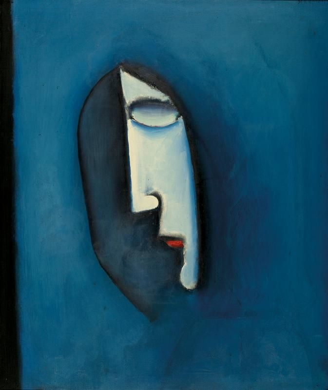 Charles Blackman  Face (1957)