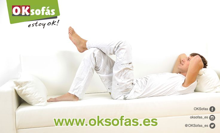Se te acaban la vacaciones? ¡Los momentos de relax seguro que no, si tienes un buen sofá! #Verano #Verano2017 #FinVacaciones  #decor #hogar #sofás  http://www.oksofas.es
