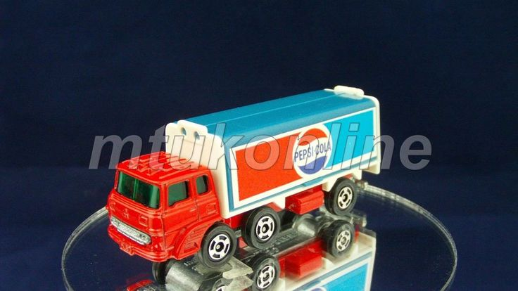 TOMICA 076C FUSO WING ROOF TRUCK | 1/127 | JAPAN | 076C-4 | PEPSI COLA | 01643