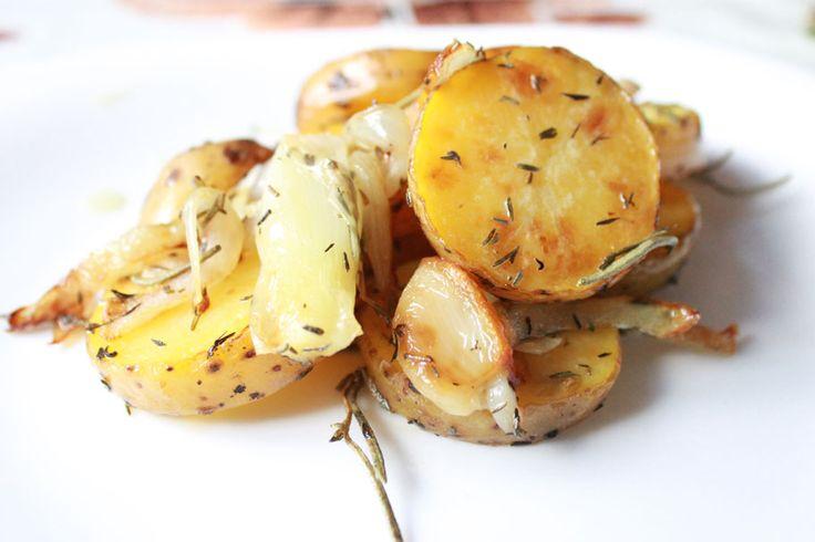 Рецепт жареного картофеля на сковороде на французский манер