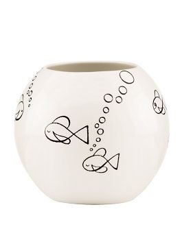 woodland park fish rose bowl from Kate Spade! We think they MAY have just had some Sharpie inspiration!