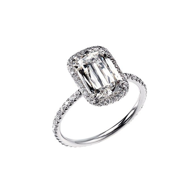 Engagement Rings with Pavé Settings