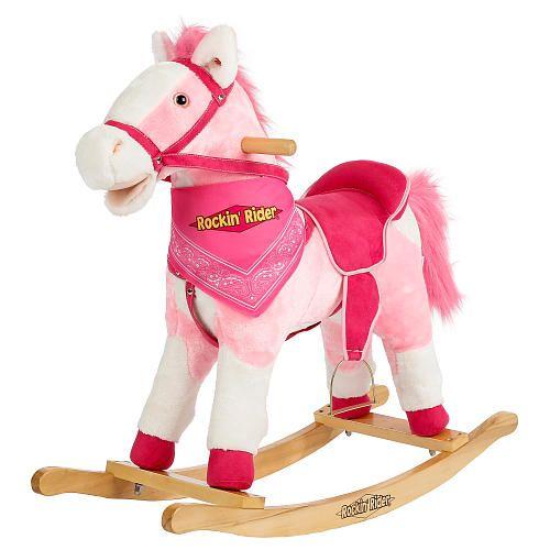 Rockin' Rider Holly Animated Plush Rocking Horse