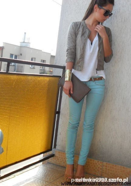 love, elizabethany: 13 ways to wear mint jeans in the winter