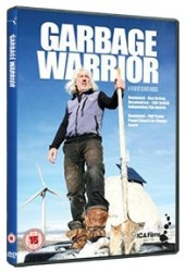 Recension av Garbage warrior. En film av Oliver Hodge med Michael Reynolds som bygger hus av sopor!