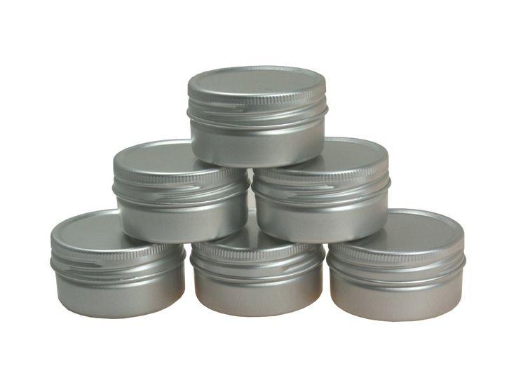 Aluminiumdosen für Lippenbalsam oder Ähnliches, 6-teilig: Amazon.de: Küche & Haushalt