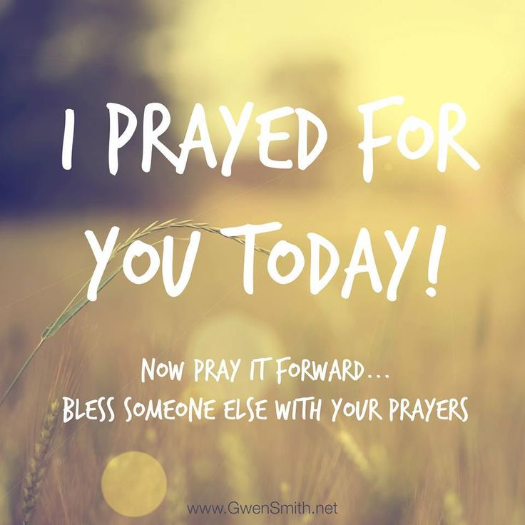 Pray It Forward by Blessing Someone with Your Prayers and SHARE this message with your friends and family, thanks for your support! www.ChristiansConnectingChristians.com