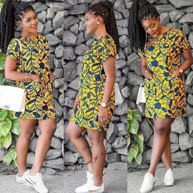 Top 20 Kitenge Fashion Short Dresses 2019 Reny Styles Kitenge Fashion Latest African Fashion Dresses African Fashion