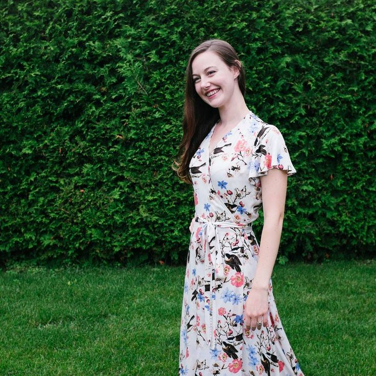 Sew Over It Eve Dress - Have I mentioned how much I love love love this pattern?  It's so romantic, fluttery, soft and graceful! I love the vintage features as well