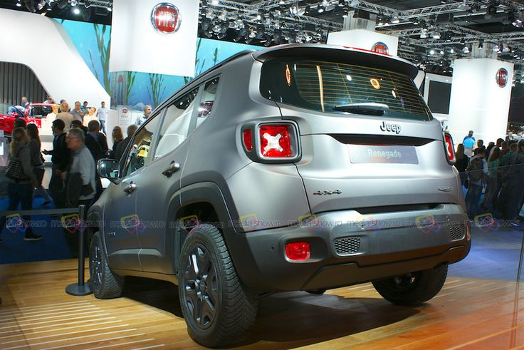 2016 Jeep Renegade 4x4 - Rear Angle View - Want to see more? Follow the link on the photo for Jeep at IAA Frankfurt 2015!