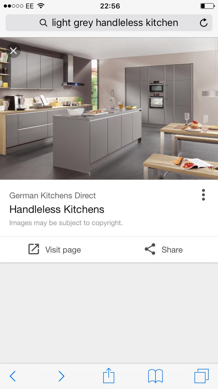 12 best Nolte Feel and Manhatten Handleless Kitchen images on