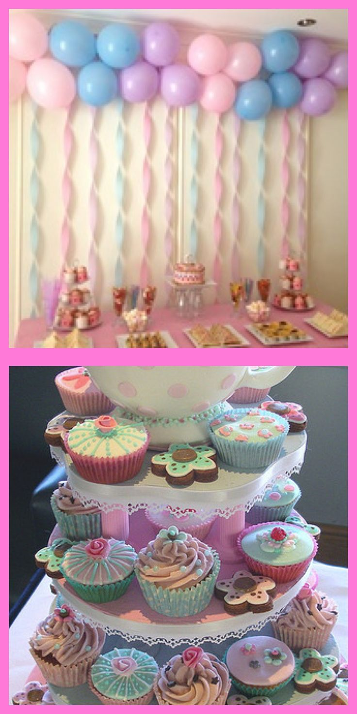 Princess Birthday inspiration I love the balloons and streamers