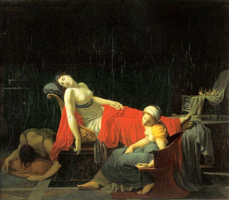 Жан Батист Реньо (1754-1829). Смерть Клеопатры. 1796/99