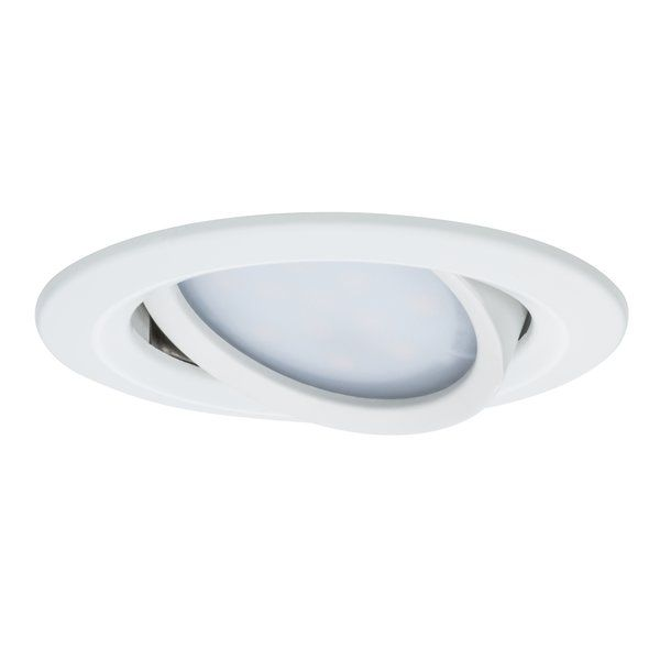The Slim Coins are innovative and user-friendly recessed spotlights that are suitable for new installations as well as replacing existing installations. They are particularly flat, meaning they can be installed in ceilings with a cavity of only 30mm. From 50cm to 5m - you determine the spacing between the spotlights! The simple and tool-free linking of single lights with quick clamps saves more than just time and stress - thanks to their energy-efficient LED technology with very low power…