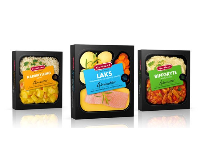Packaging of the World: Creative Package Design Archive and Gallery: Fjordland Ready Meals