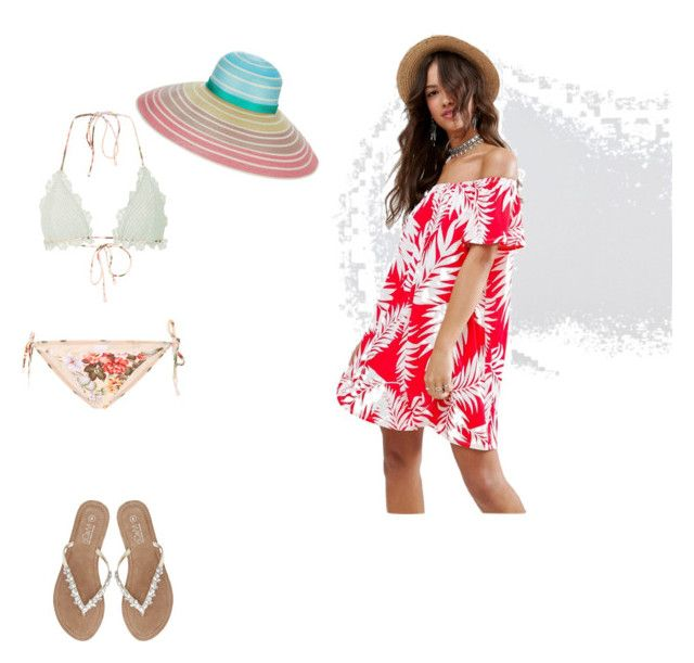 """Summer Holiday in Beach"" by devarahma on Polyvore featuring Zimmermann, M&Co, ASOS and Missoni"