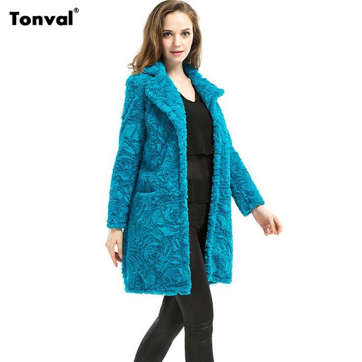 Купить товарTonval женщины зима цветочные из искусственного меха пальто бренда 2016 моде нагрудные меховые куртки дамы женский 5XL 6XL Большой размер долго искусственный мех пальто в категории Мех натуральный и искусственныйна AliExpress.                                                                                                  Размер  (См