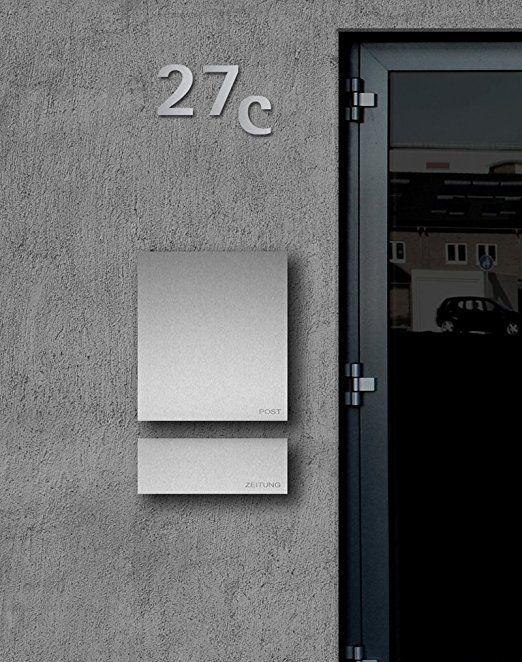 Moderner Briefkasten 25 best ideas about briefkasten edelstahl on vordach edelstahl briefkästen and