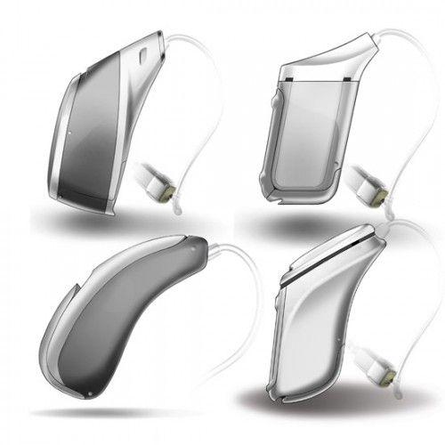 Unitron hearing aid concept sketches by AWOL | clean, simple descriptive sketches perfect for client review, caisdesign.com