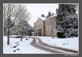 Stamner House in the snow