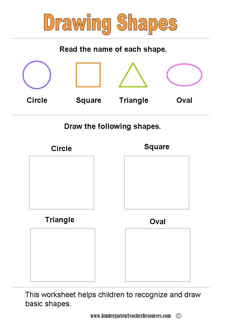 66 Best School Images On Pinterest Shapes And Their