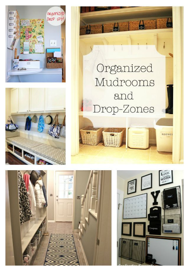 The Best Most Organized Mudrooms And Drop Zones The O