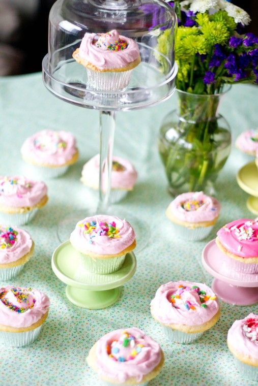 Magnolia Bakery Vanilla Cupcake Recipe  this is the best ever!! i even use for my basic cake recipe!!