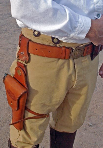 It was designed from the ground up as a Wild Bunch holster.