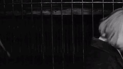 "Barbara Kwiatkowska (Lass) in the polish part of ""L'Amour à vingt ans"" named ""Warszawa"", directed by Andrzej Wajda."