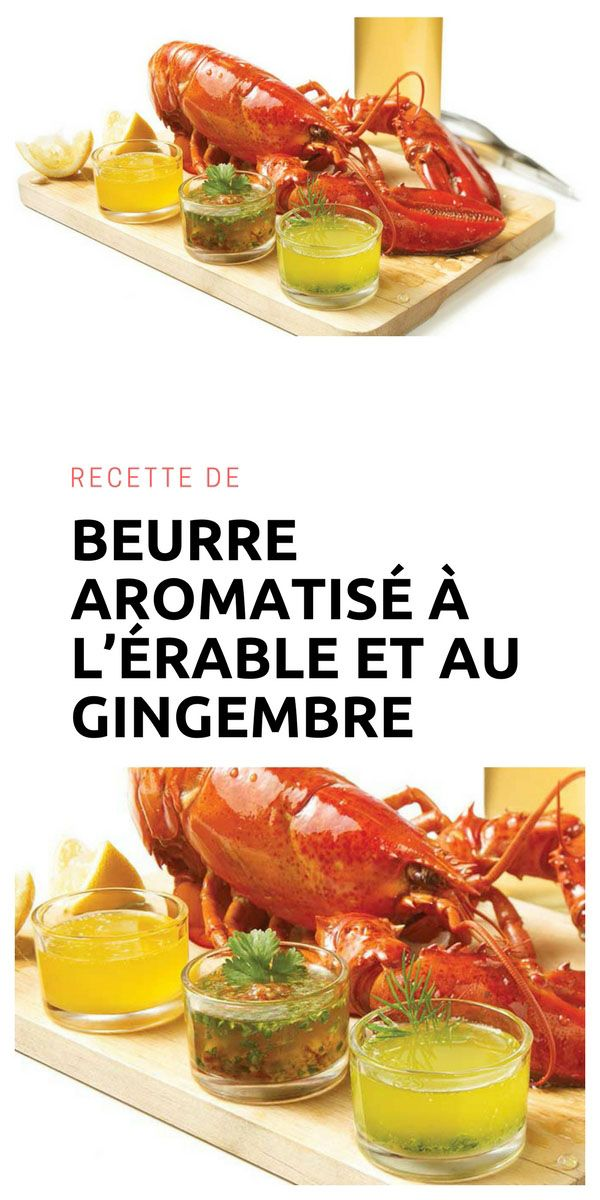 #beurre #érable #gingembre