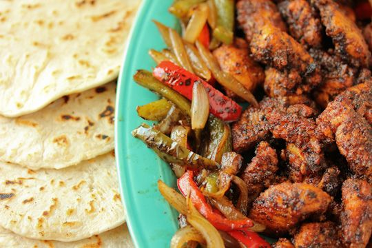 Blackened Catfish Fajitas - non traditional game day food but destined ...