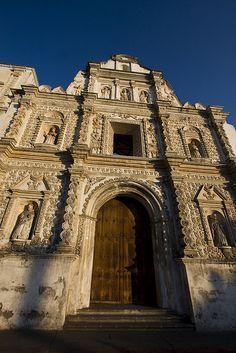 La iglesia de Quetzaltenango