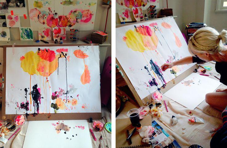 Alison Cooley's Studio