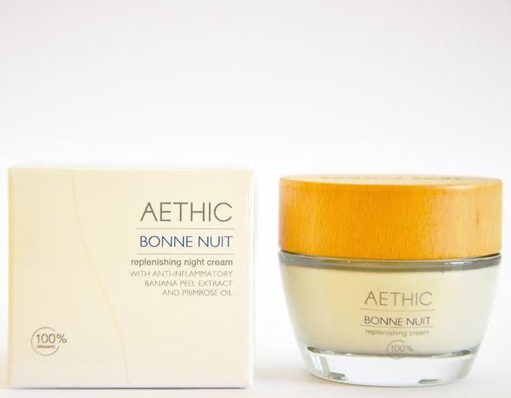 Aethic Bonne Nuit replenishing night cream via Ekoshoppen. Click on the image to see more!
