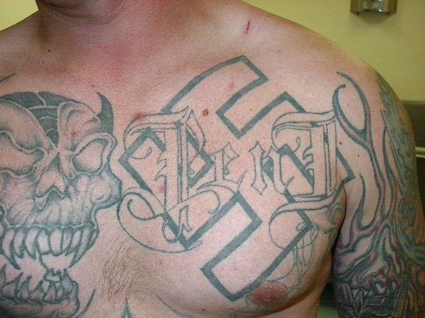 white supremacy tattoos - Google Search