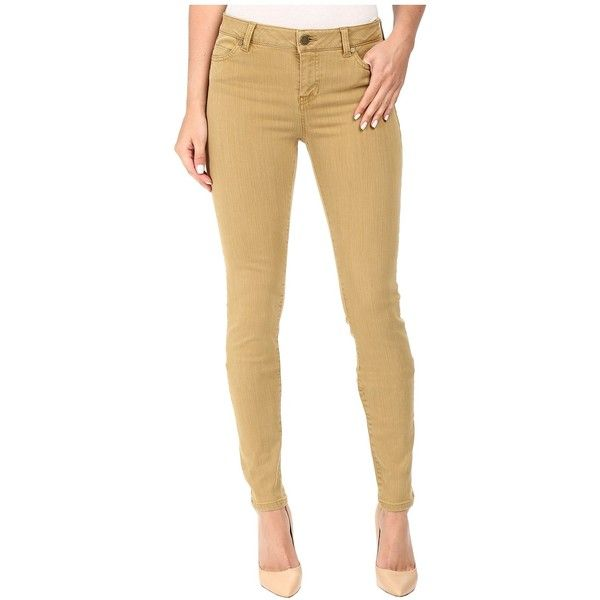 Liverpool Aiden Skinny in Dull Gold (Dull Gold) Women's Jeans ($96) ❤ liked on Polyvore featuring jeans, gold skinny jeans, super skinny jeans, slim jeans, brown jeans and gold jeans