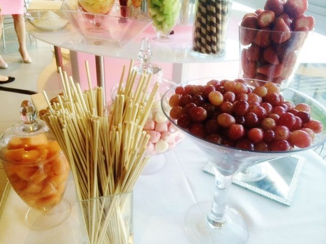 Just some of the fresh fruit that Fountains for Functions provided with their gorgeous chocolate fountain!