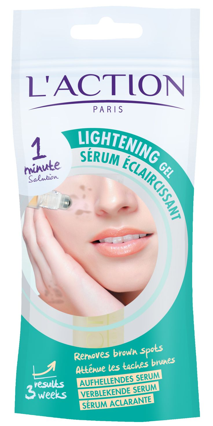 Lightening Gel Removes Brown Spots
