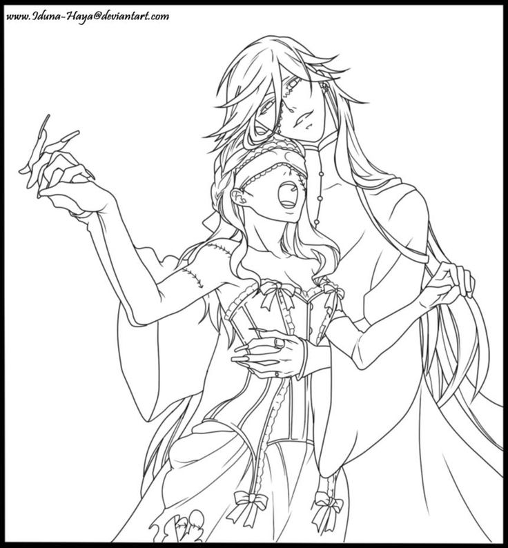 black butler coloring pages colouring pages to color printable coloring pages coloring books colouring sheets - Black Butler Chibi Coloring Pages