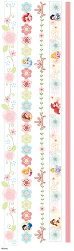 EK Success - Disney Collection - 3 Dimensional Stickers with Epoxy and Glitter Accents - Princess Dreamland Border at Scrapbook.com
