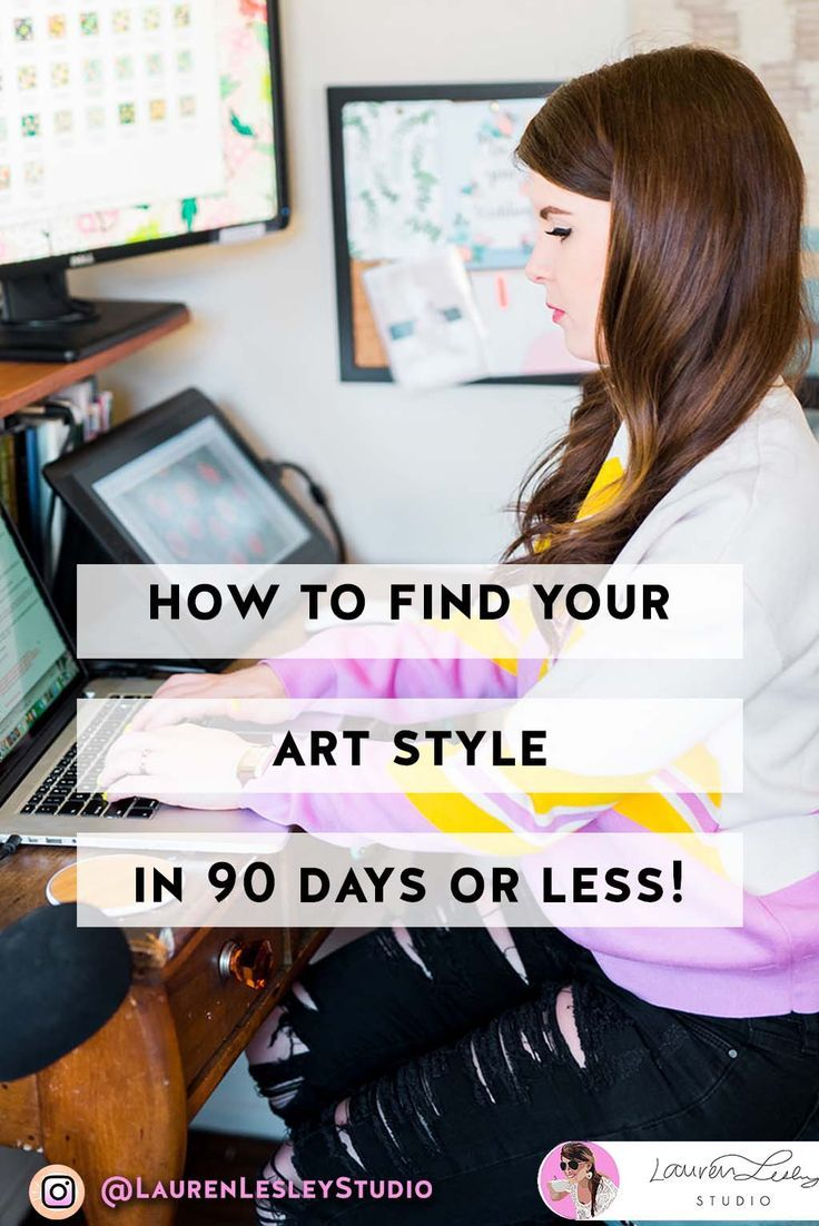 Find Your Art Style In 90 Days Or Less Types Of Art Styles Art Style Challenge Fashion Art