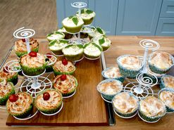 Josephines cupcakes med citron, banan och kokos eller choklad (kock Josephine Palm)
