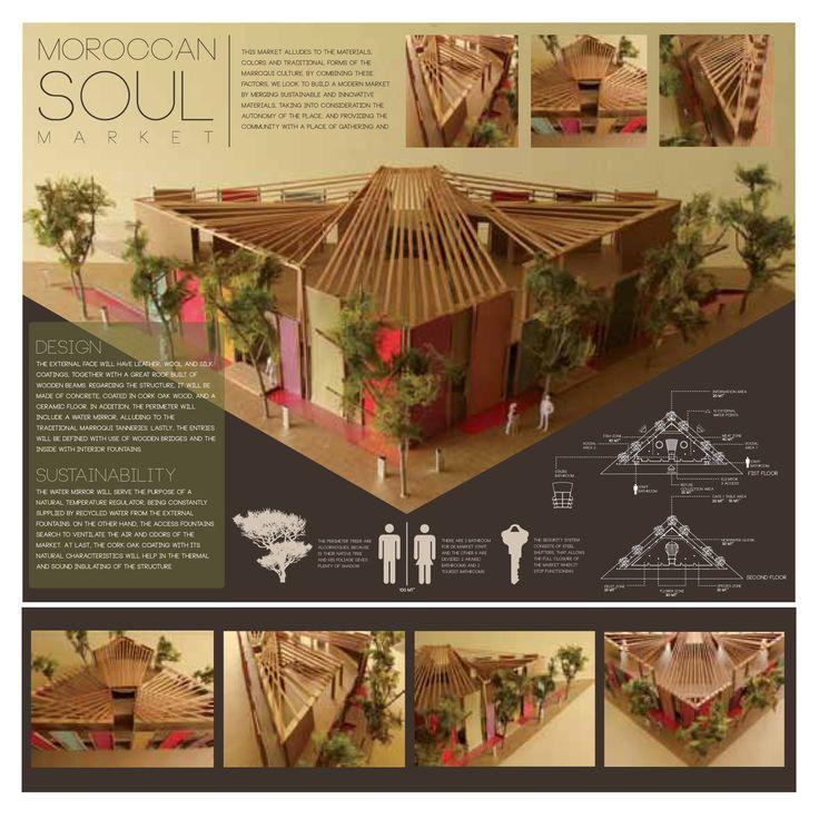 Diseño Proyecto Moroccan Soul Market, Marruecos