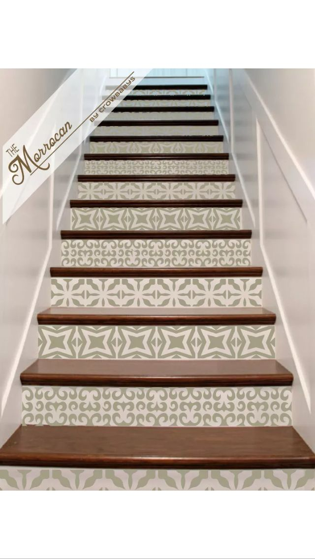 Stair stickers to transform your home!